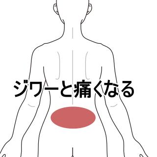 よう の な 生理 ぎっくり腰 痛み 前