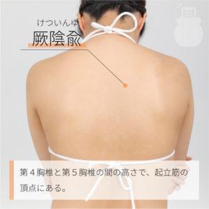 厥陰兪(けついんゆ)|足の太陽膀胱経|BL14 Jueyinshu