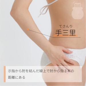 手三里(てさんり)|手の陽明大腸経|LI10 Shousanli