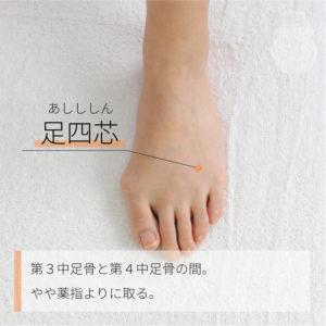 足四芯(あしししん)