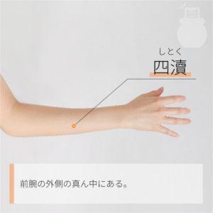 四瀆(しとく)|手の少陽三焦経|TE9 Sidu