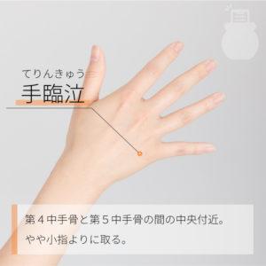 手臨泣(てりんきゅう)
