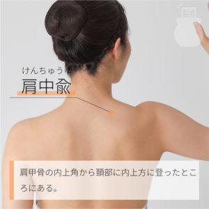 肩中兪(けんちゅうゆ)|手の太陽小腸経|SI15 Jianzhongshu