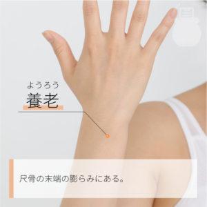 養老(ようろう)|手の太陽小腸経|SI6 Yanglao