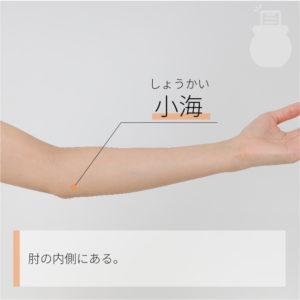 小海(しょうかい)|手の太陽小腸経|SI8 Xiaohai