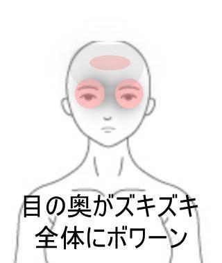 目 の 奥 が 痛い ツボ