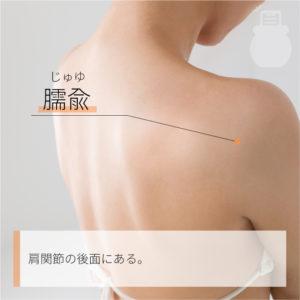 臑兪(じゅゆ)|手の太陽小腸経|SI10 Naoshu